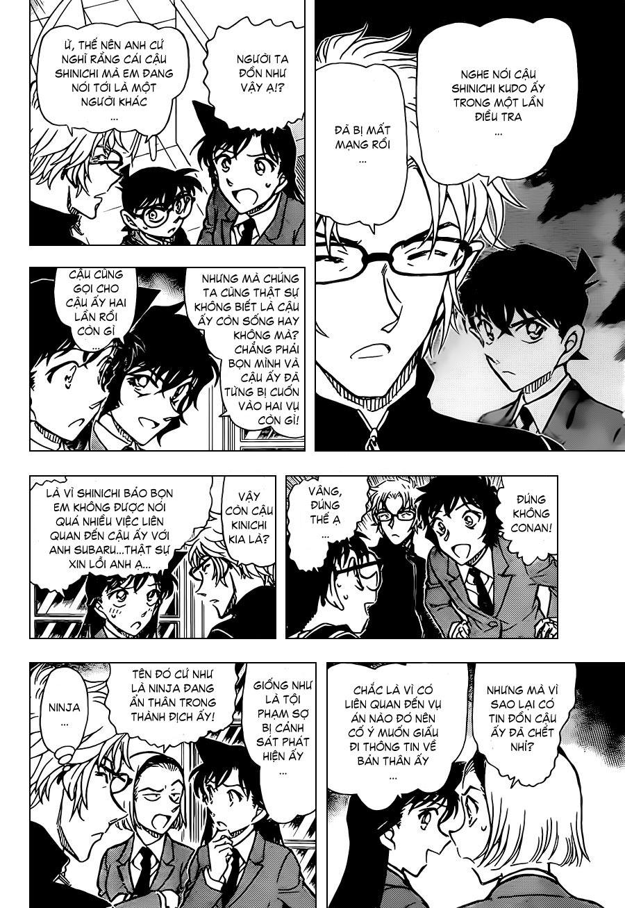 Thám Tử Lừng Danh Conan - Chapter 813 - Pic 14