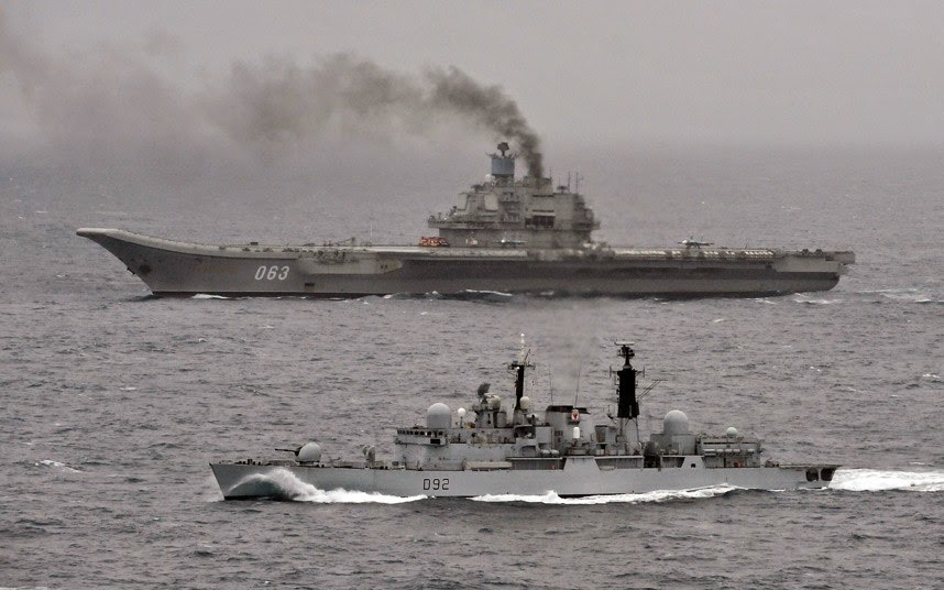 Name of the Warship: Admiral Kuznetsov-class aircraft carrier,Russia