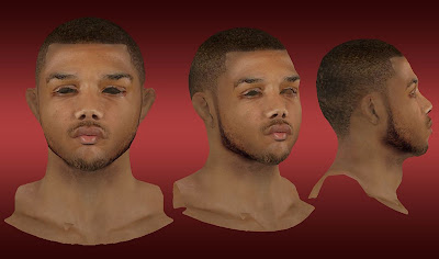 NBA 2K13 Eric Gordon Cyberface Mod