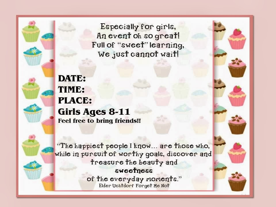 girls activity day ideas lds