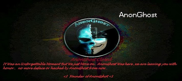 ONE OF THE BEST ANOYMOUS HACKER GROUP ANONGHOST CLOSED