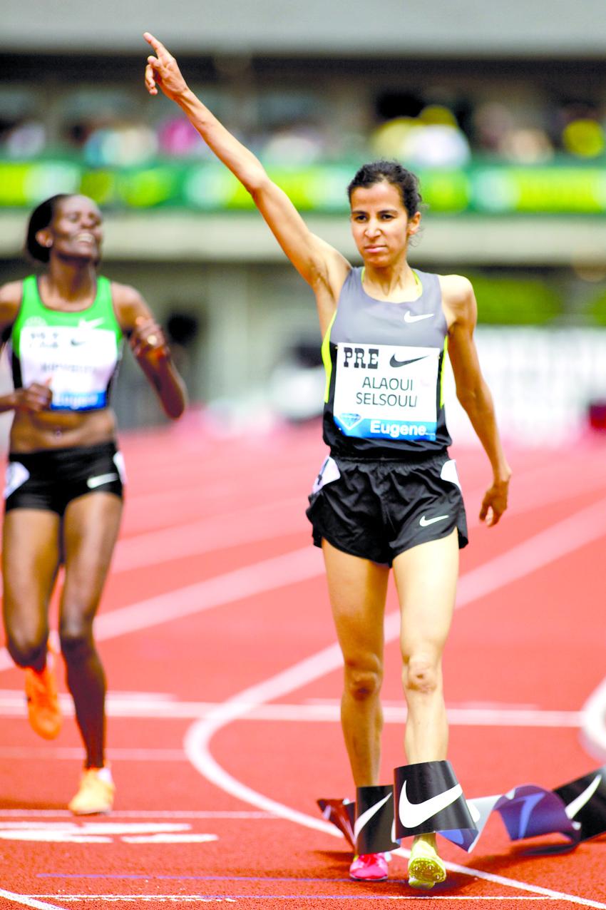 Mariem Alaoui Selsouli wins Women's 1500m - Meeting Areva2012