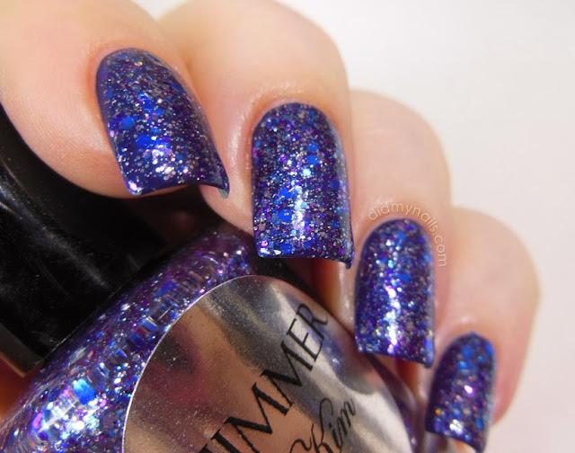 Shimmer Polish Kim swatch