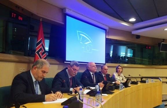 Συνέντευξη Τύπου της Χρυσής Αυγής στις Βρυξέλλες για την παραβίαση των ανθρωπίνων δικαιωμάτων στην Ελλάδα - ΒΙΝΤΕΟ