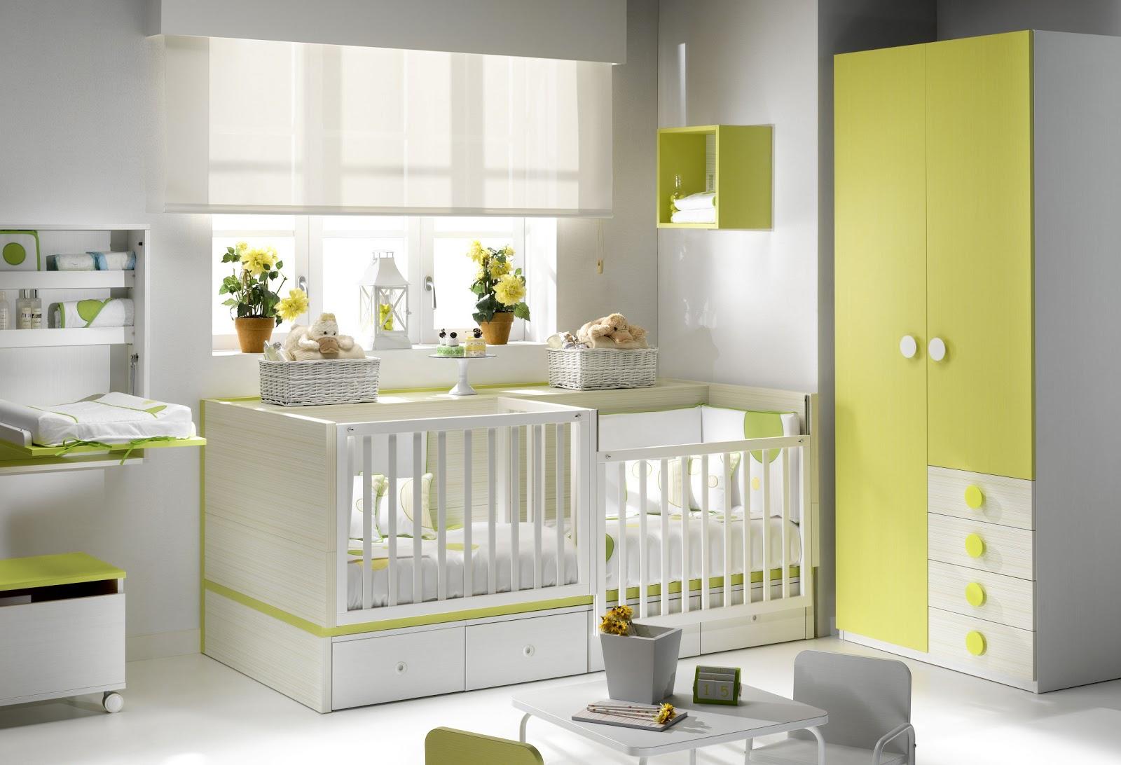 mobilier enfant et junior: Lit bébé évolutif jumeaux, un meuble joli ...
