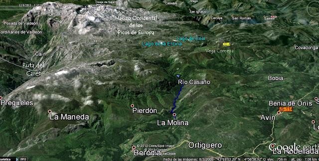Desfiladero del Río Casaño asturias