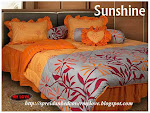 Bedcover set sunshine