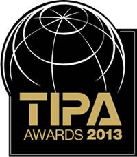 Il logo dei TIPA awards 2013