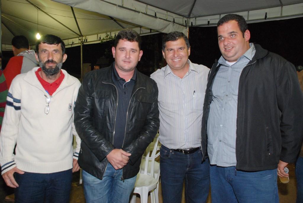 Sexta (24/05) – Prefeito Arlei, acompanhado do vereador José Carlos Fita, do Prefeito de Itaboraí, Helil Cardozo e do vereador de Maricá, Luciano Rangel Júnior
