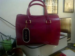 tas furla semi original warna pink