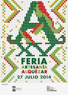 FERIA DE ARTESANIA DE ALQUEZAR 2014