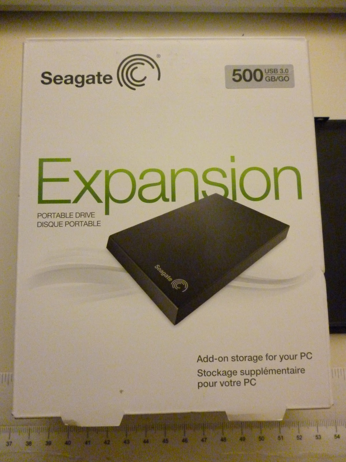 how to open seagate expansion portable drive srd00f1