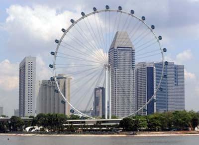Imagem da maior roda gigante do mundo