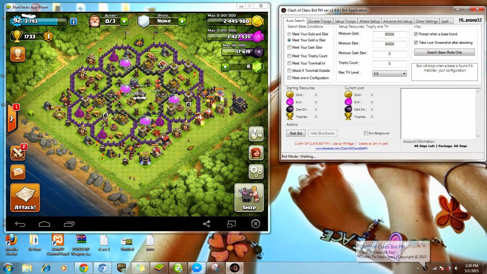 clash of clans instructions