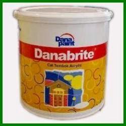 cat danabrite rp 98000 5kg cat danabrite rp 475000 25kg