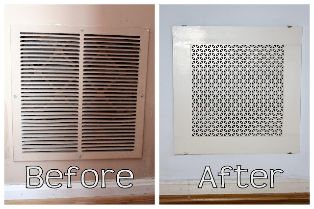 diy air return grill