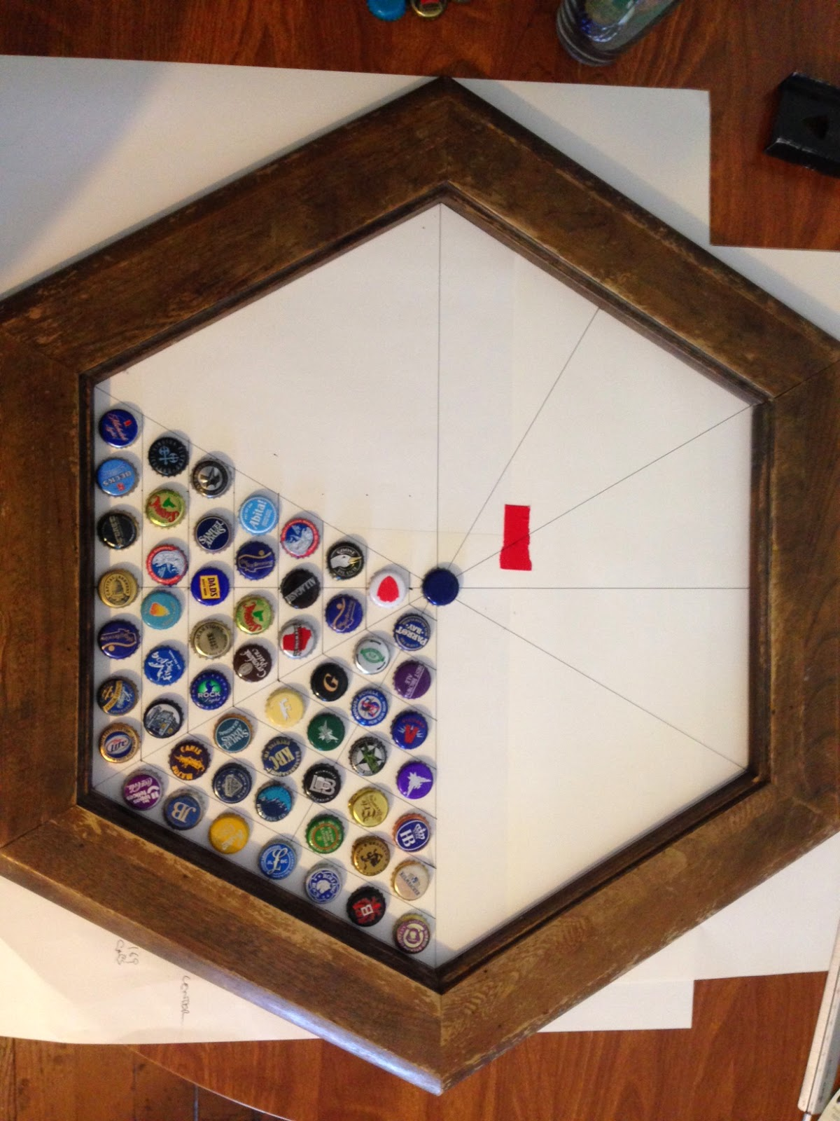 Projects NeoPixel Bottle Cap Table