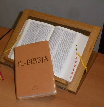 THE HOLY BIBLE - in Maltese, in English, in Italian, Vulgata