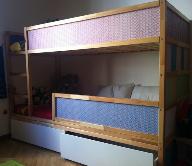 kura bunk bed with underbed storage ikea hackers ikea hackers