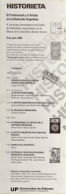 4tas JORNADAS UNIVERSITARIAS DE DISEÑO DE HISTORIETAS