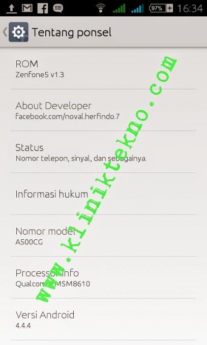 Custom Rom Asus Zenfone 5 For Smartfren Andromax c3