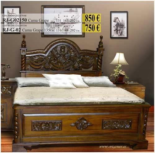 Bases de camas todo tipo de acabados y estilos mueble de for Estilos de muebles de madera