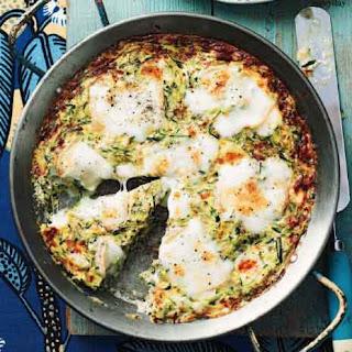 Zucchini and Taleggio Frittata