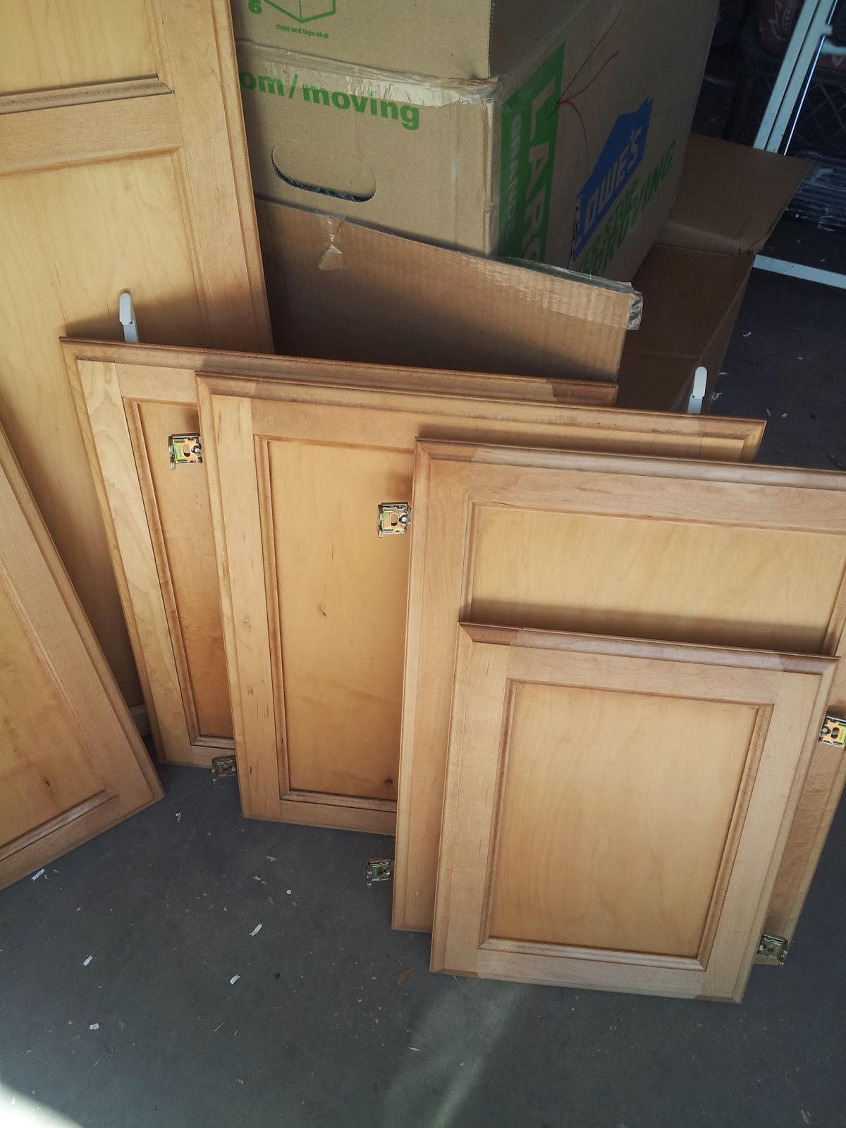 lovely Why Are Kitchen Cabinets So Expensive #9: I am going to build them myself. Yes, you read correctly. I am going to build the frames, install shelves, paint the bases, and then hang these doors that I ...