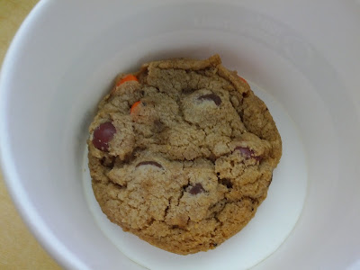Reese's pieces and chocolate chip cookies