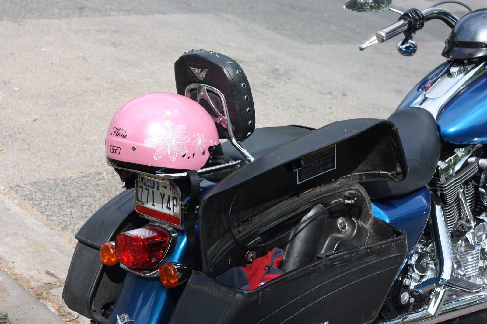 Vegan Motorcycle Helmet Pink Motorcycle Helmet