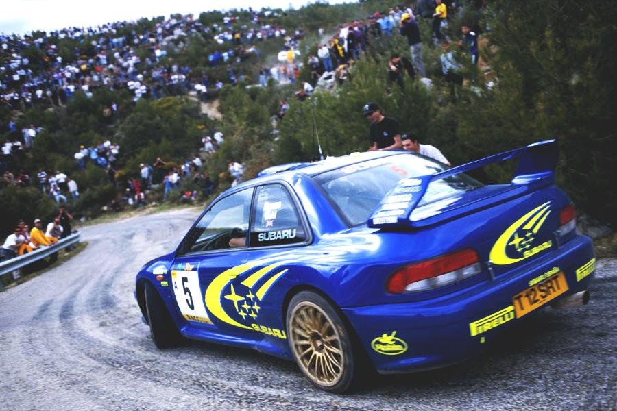 Subaru Impreza I, WRC, rajdy, ikona, kultowy, japoński sportowy samochód, boxer, AWD