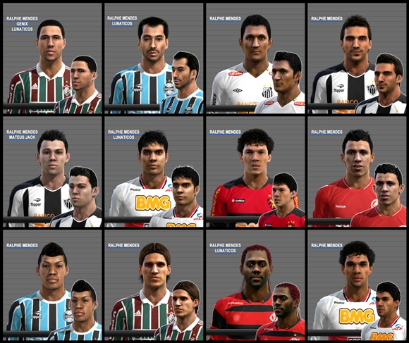 Pes Stats Habilidades Paulo Henrique: Tudo Para PES 2013 E FIFA 13: PES 2012