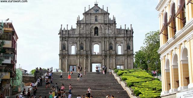 Ruinas de San Pablo en Macao