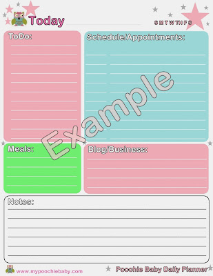 Daily Planner for Digital Download
