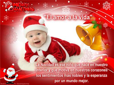 La navidad es ese niño que nace en nuestros corazones