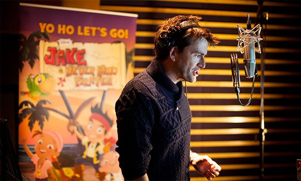 David Tennant - Jake And The Never Land Pirates
