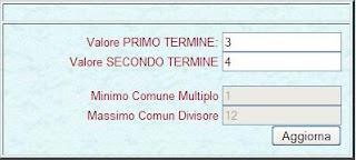COME CALCOLARE ONLINE IL MINIMO COMUNE MULTIPLO - M.C.M.