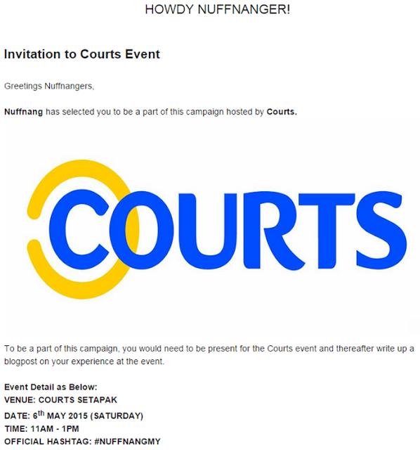 Invitation Event Nuffnang
