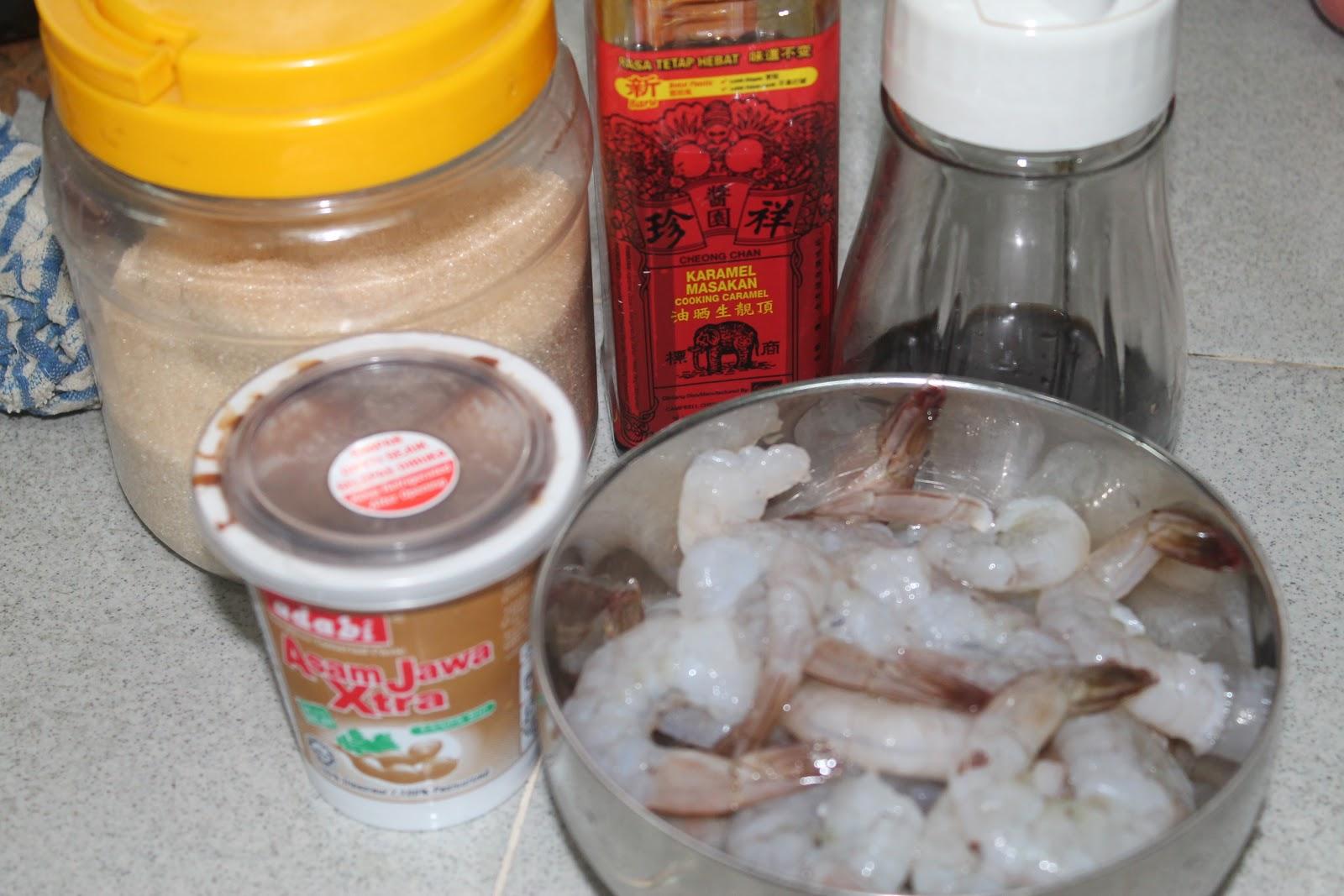 My Cooking Recipe : 罗望子虾 Tamarind Prawn / Nyonya Assam Prawn