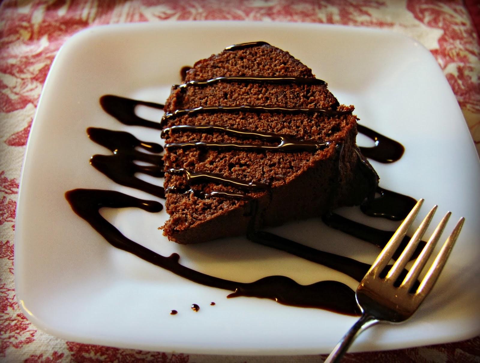 Amaretto Almond Bundt Cake