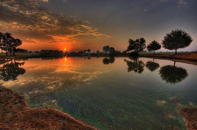 Foto Lukisan Alam Terindah Karya Tuhan Sang Pencipta