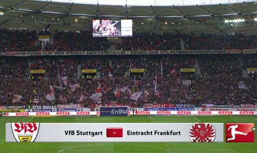 Stuttgart 2-1 Eintracht Frankfurt