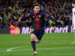 Foto Messi gaya