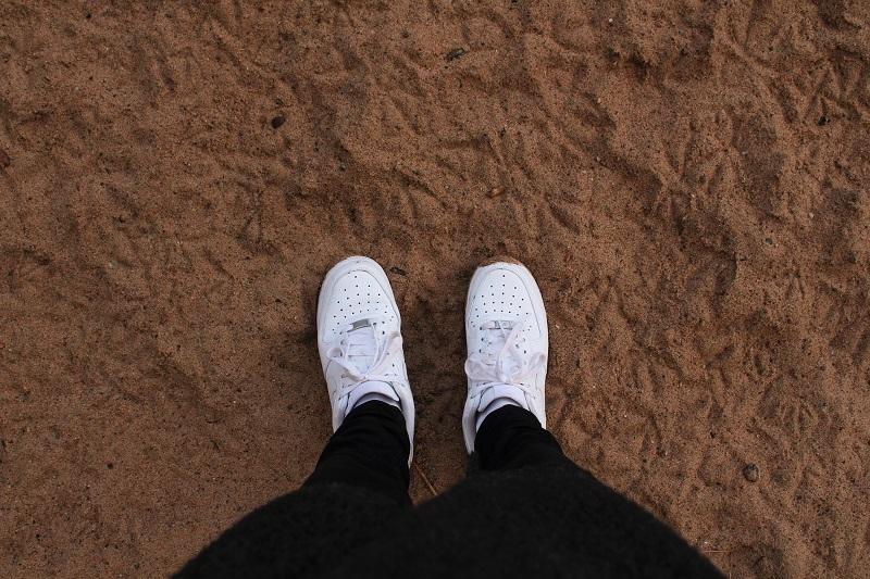 hiekkarannalla