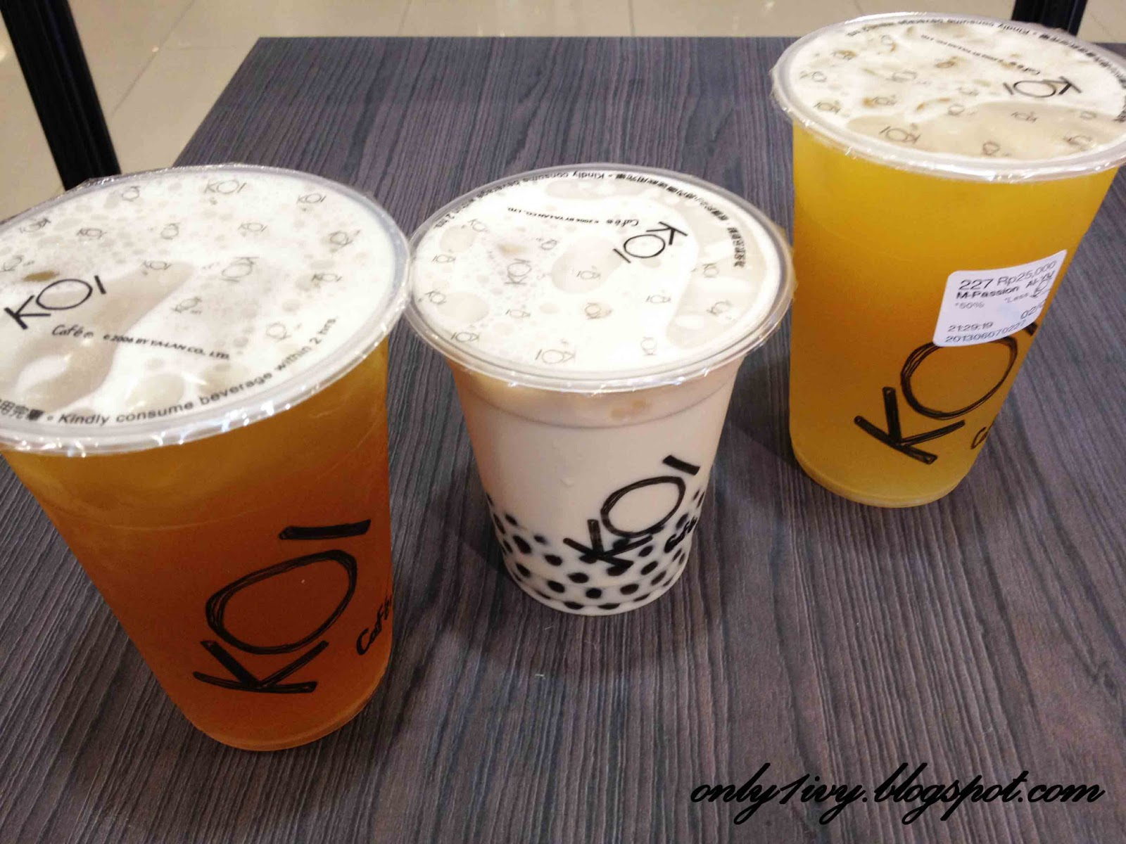 Ivy 39 s life bubble tea fever in jakarta which one you for Passion jewelry taman anggrek