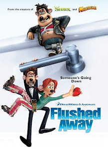 Poster Of Flushed Away (2006) In Hindi English Dual Audio 300MB Compressed Small Size Pc Movie Free Download Only At worldfree4u.com