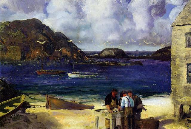 1913 Harbor at Monhegan