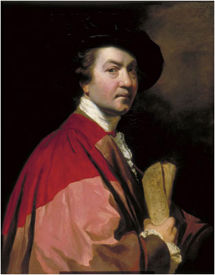 Sir Joshua Reynolds, Self portrait, 1776