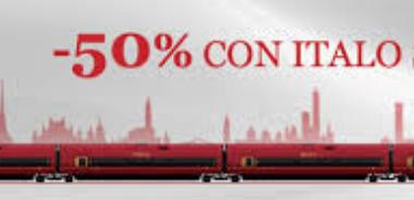 codici sconto treni Italo