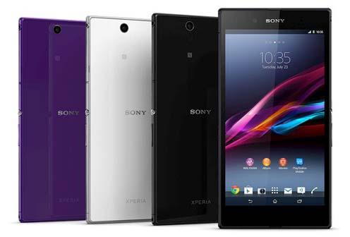 Harga Sony Xperia Z Ultra C6802 Terbaru dan Spesifikasi Lengkap
